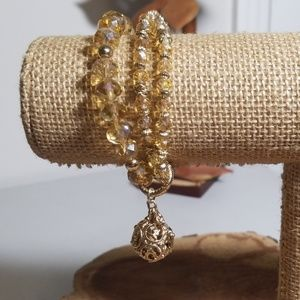 Lisa Hoffman Triple Strand Fragrance Bracelet
